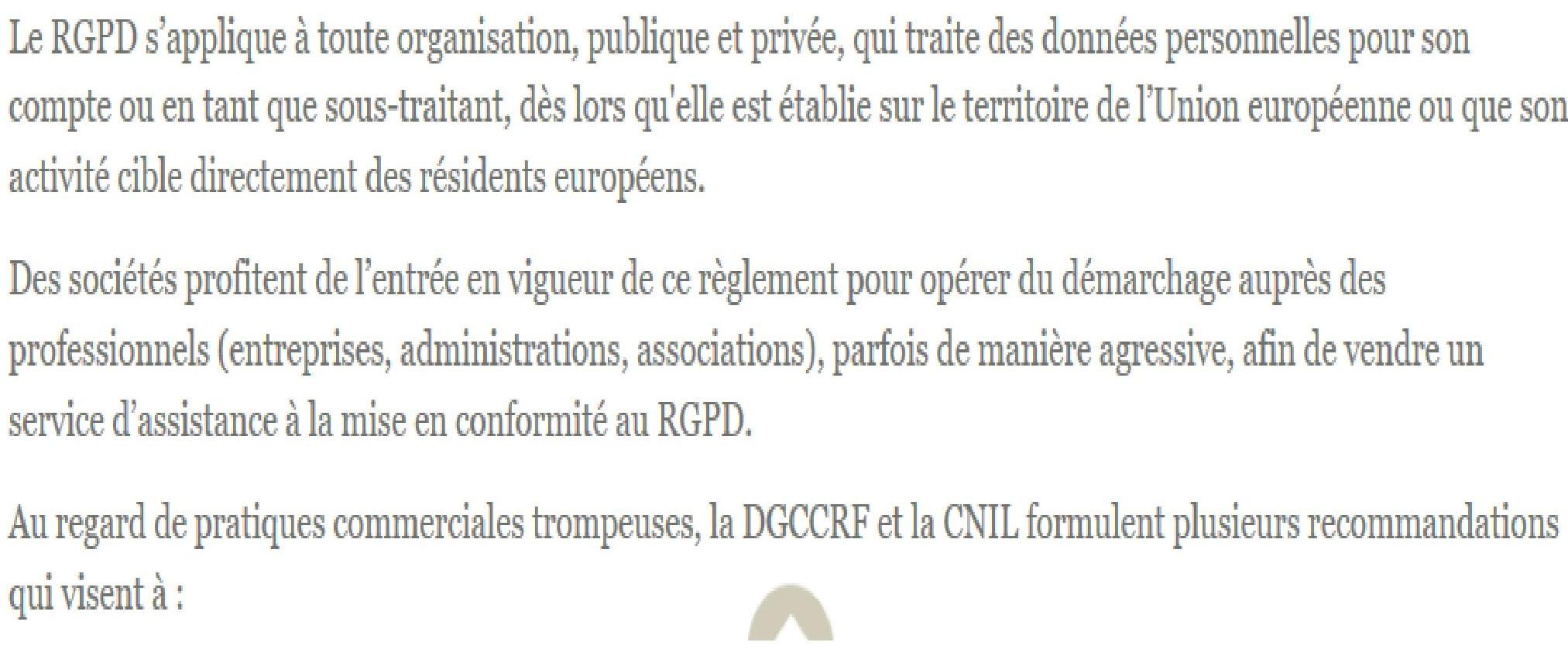 courrier-mise-en-conformité-arnaque-rgpd-cnil